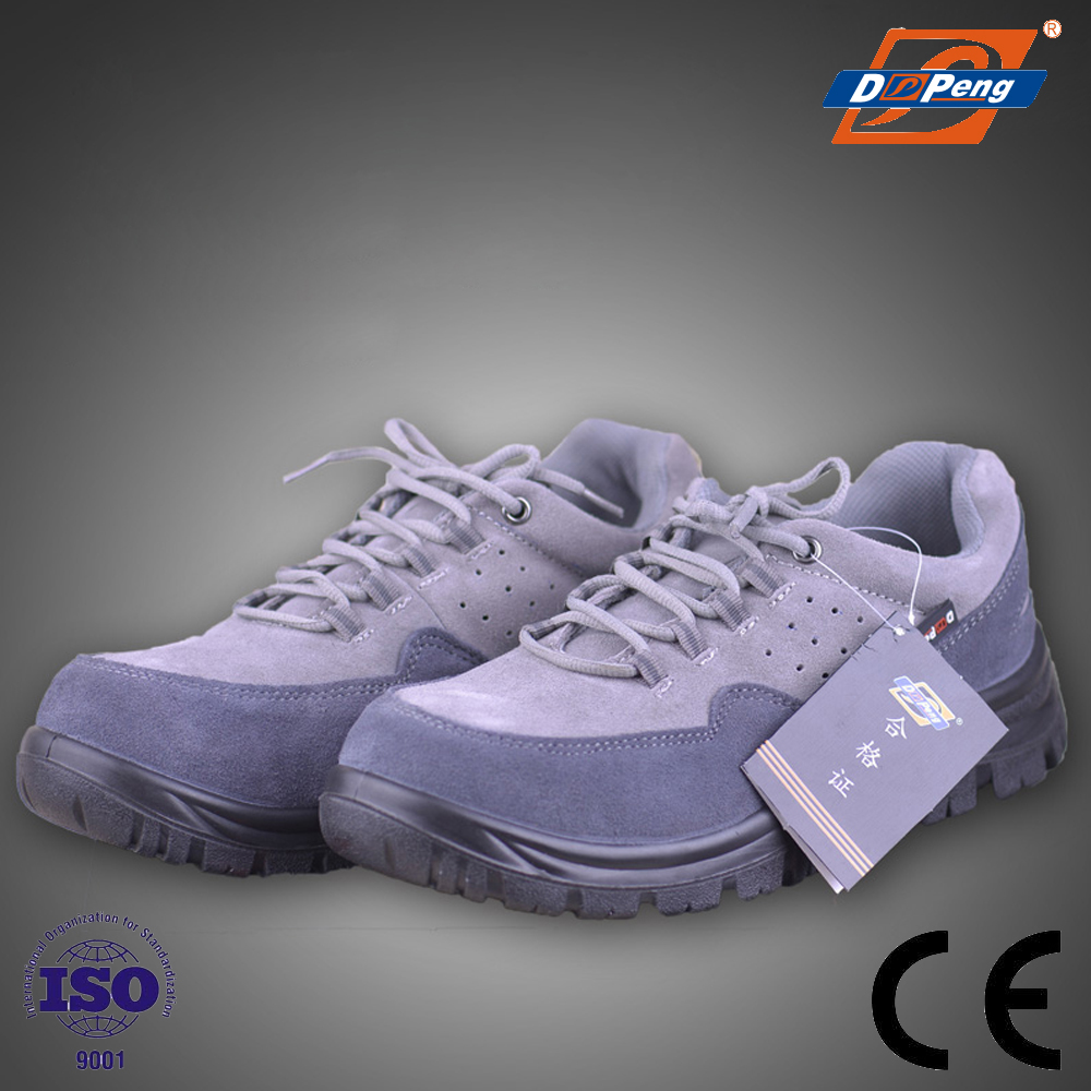DP hot product China manufacture grey suede outdoor safety boots