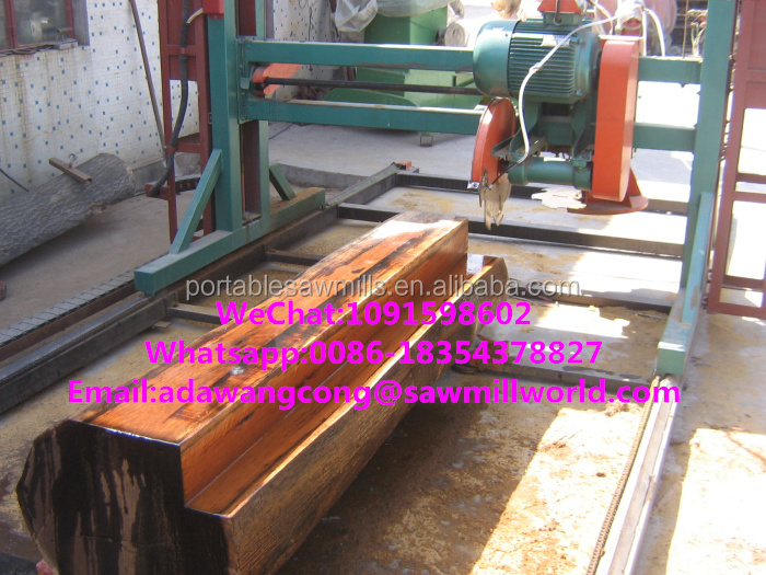 Double Blade Saw Wood Cutting Saw Portable Sawmills Mill