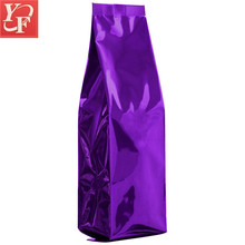 New product 3 side seal opp resealable sealable square bottom bags