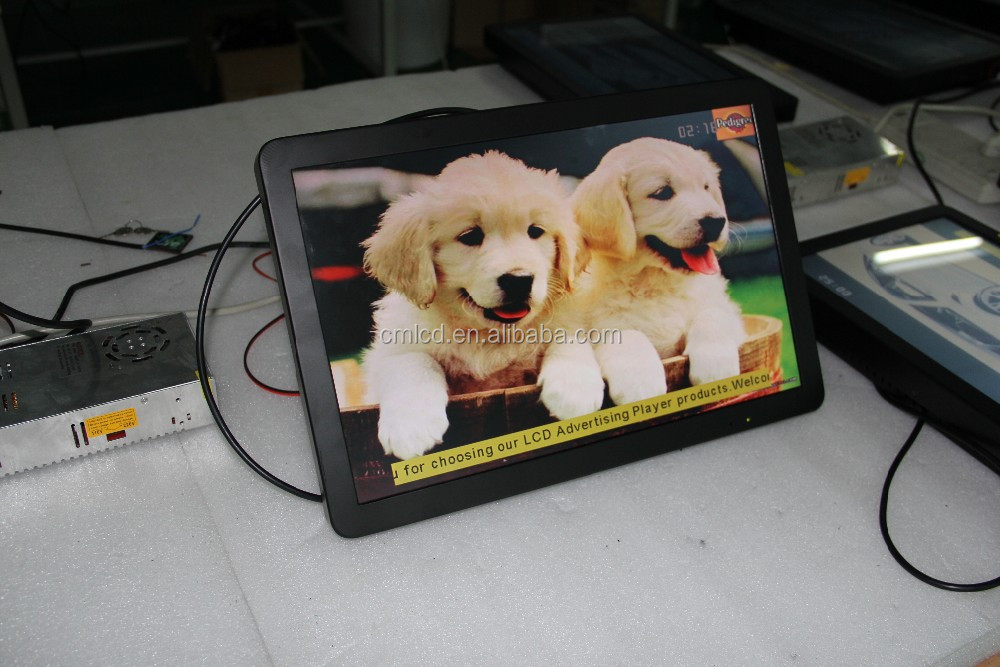 High definition TFT 23.6 inch bus LCD all in one computer