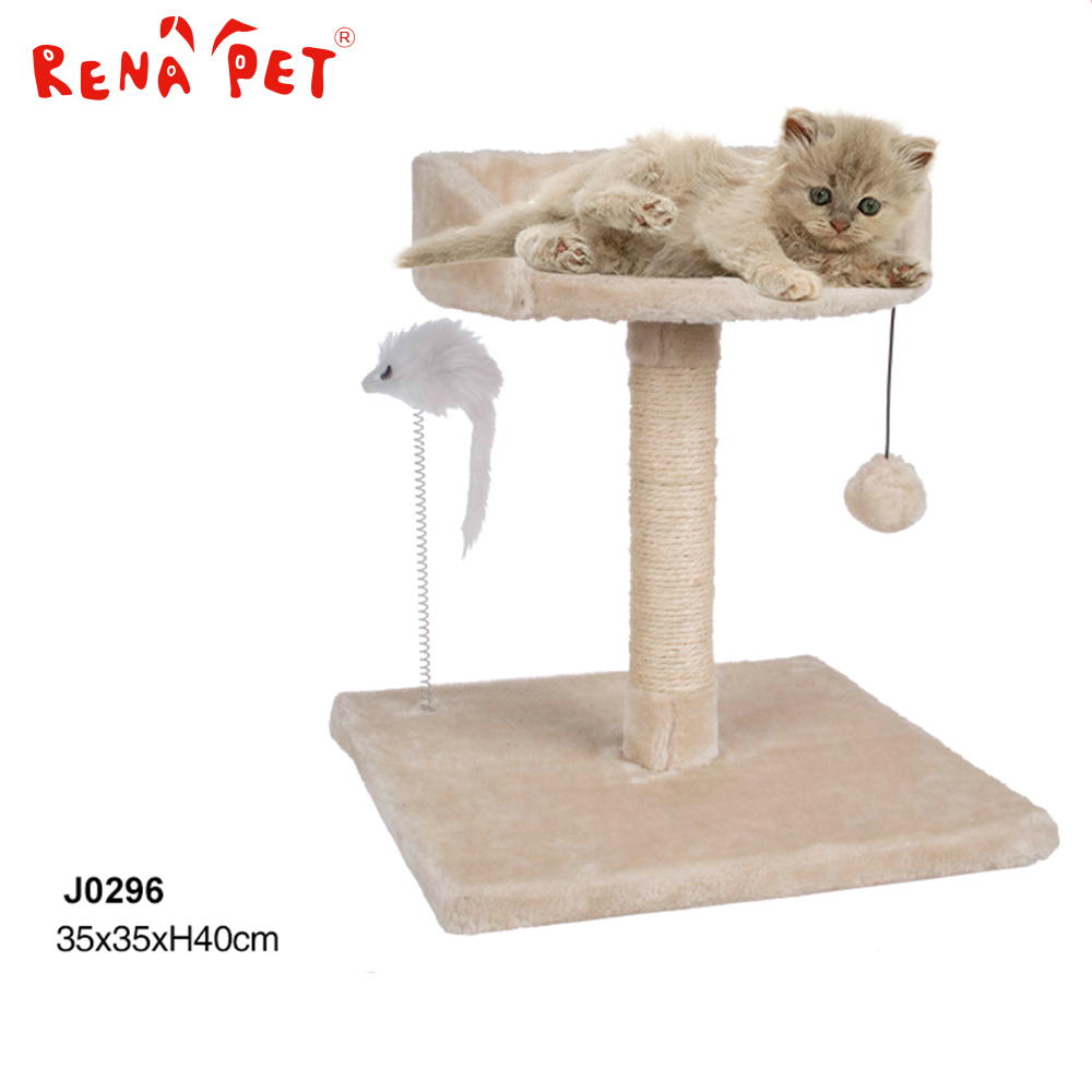 Elegant Shape high pet wooden mansions cat tree