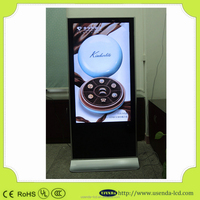 "55"" HD Resolution lcd advertising display mass production OEM/Digital signage display/Digital signage players"