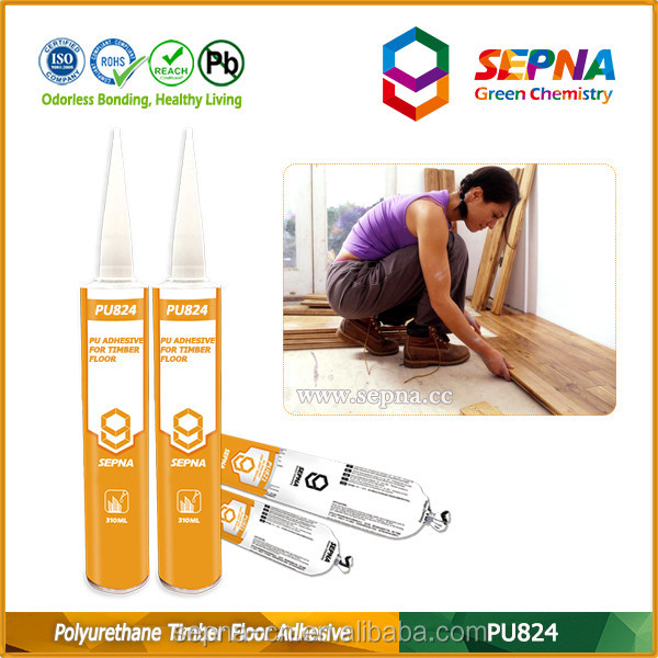 One Component Polyurethane Adhesive Sealant of Bonding Wood Floor