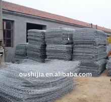 Hot-dipped galvanized hexagonal wire mesh(factory)