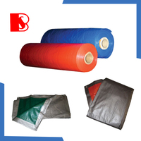 Waterproof Polyethylene Tarpaulin / PE Tarps Fabric / Canvas / Sheet / Roll for Truck Cover& Boat