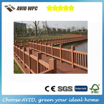 Cheap building materials Handrails For Stairs/ outdoor Wpc Handrails