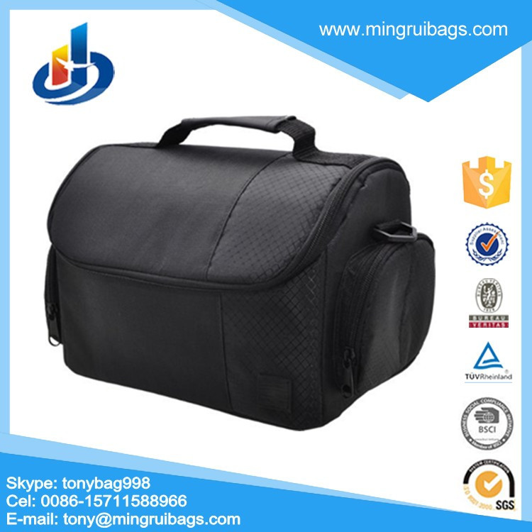 Large Digital Camera / Video Padded Carrying Bag / Case for Nikon, Sony, Pentax, Olympus Panasonic, Samsung