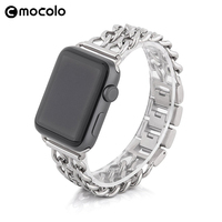 Mocolo Wholesale New Arrival Stainless Steel Watchband Strong Strap for Apple Watch