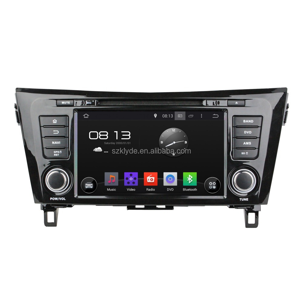 Android 5.1. System 2 din Car Dvd Player Gps Navigation For Qashqai/x-trail 2014 With Car Monitor