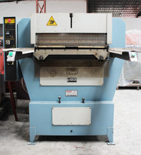 Italy hydralic leather ironing embossing machine BANF P180S