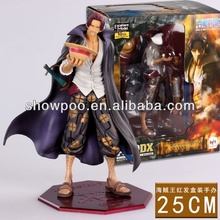 Anime Figure One Piece Shanks Figure 25cm custom action figure