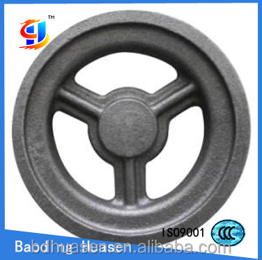 10X2.5 cast iron solid wheel for hand trolley