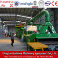 Steel plate cleaning and painting machine,steel plate shot blasting painting production line