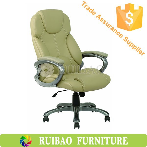 Leather Ergonomic Executive Office Chair Description
