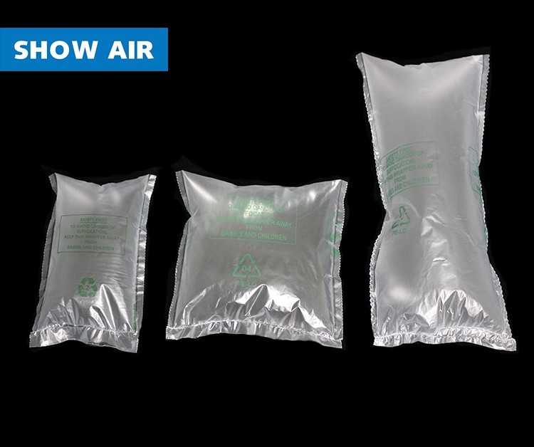 New Protective and Cushioning Material SHOW AIR Air Bag For Ecommerce Packaging