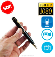 HD 1080P hidden spy pen camera with 5mp CMOS USB PC-camera and voice record Digital Fountain Pen Camcorder cheap mini dv CCTV