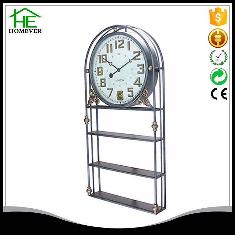 promotion hotel customize multi-function quartz wall clock