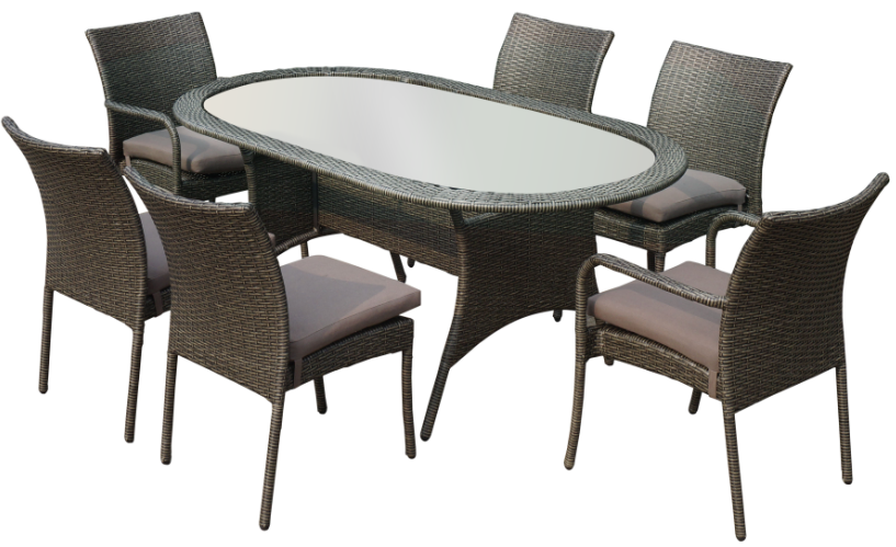 Cheap Glass Dining Table And 6 Chairs