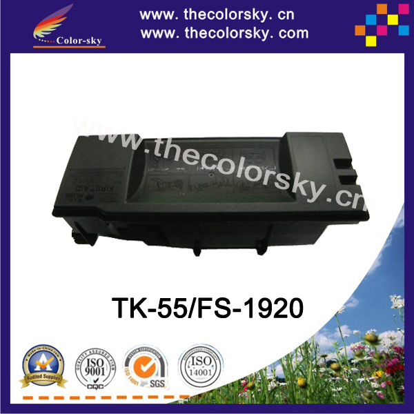 (CS-TK55) BK toner laser cartridge for Kyocera TK-55 TK-57 FS-1920 FS-1920N FS-1920DN (15k pages)