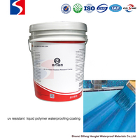 waterproofing coating water-borne acrylic emulsion polymerization paint