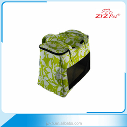Beautiful and portable pet carrier ,Zip closed dog cosy carry pet bag