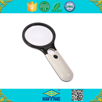 Hand held LED Dual Light Reading Magnifying glass