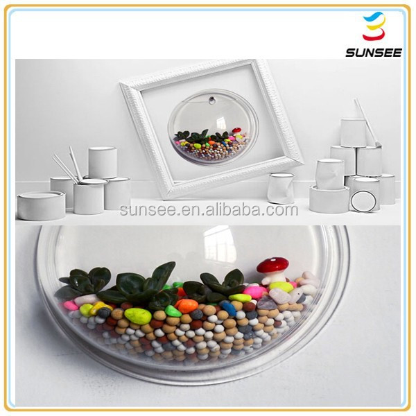 Wholesale professional manufacture round shaped acrylic for Plastic fish bowls bulk