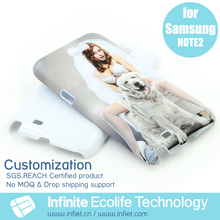 Custom 3D Printed Cute Fancy Design Smart Phone Mobile Shell Back Cover for Samsung Galaxy Note 2 Cases