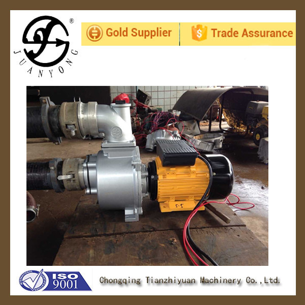Large Self - Priming Hydraulic Pump For Fire for water pump with diesel engine