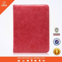Hot selling Fashion design 9.7 inch flip cover case for I pad air tablet