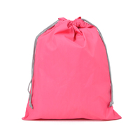 wholesale high quality colorful waterproof drawstring shopping bag
