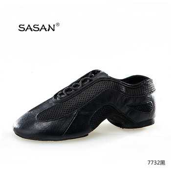 Hot Sell SASAN Soft Leather Jazz Dancing Shoes Jazz Slipper Soft Shoes 7732