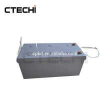 LiFePO4 12.8V 200Ah rechargeable battery for solar storage
