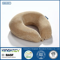 2015 New Fashion moulded memory foam car pillow/ inflatable pillow/car accessory