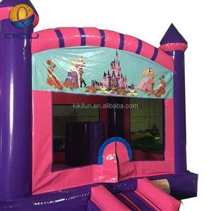 Manufacture durable PVC material cheap inflatable bouncer bounce house bouncy castles trampoline rental for sale