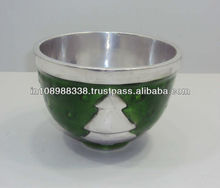 Enameled Aluminum bowl tabletop enamel bowl