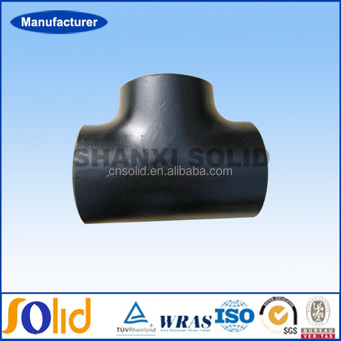 Manufacturer a106 galvanized carbon steel pipe fitting