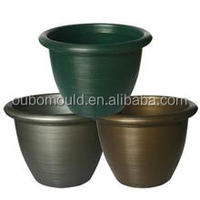 Cheap and durable plastic flower pot injection mould