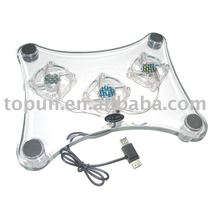 USB Laptop Cooler with 3 fans