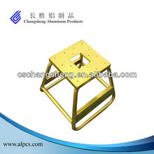 Aluminum Yellow Motorcycle Stand