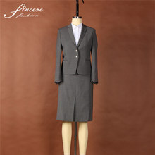 Ladies wool/Polyester/Lycra wholesale suits