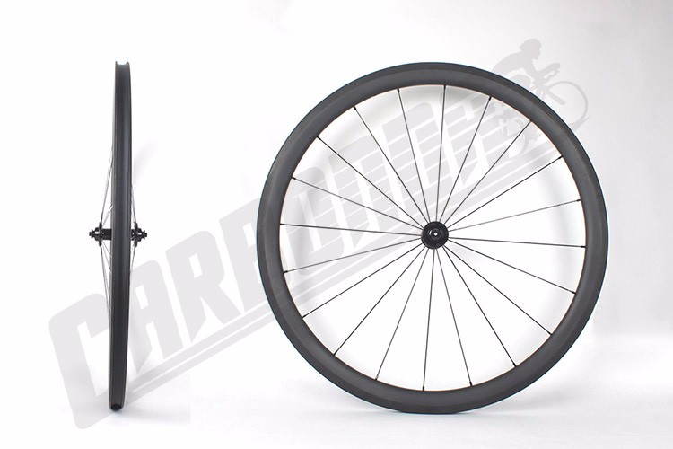New Version 700C AERO Spokes Carbon Clincher EPS Design Road Bicycle Wheels