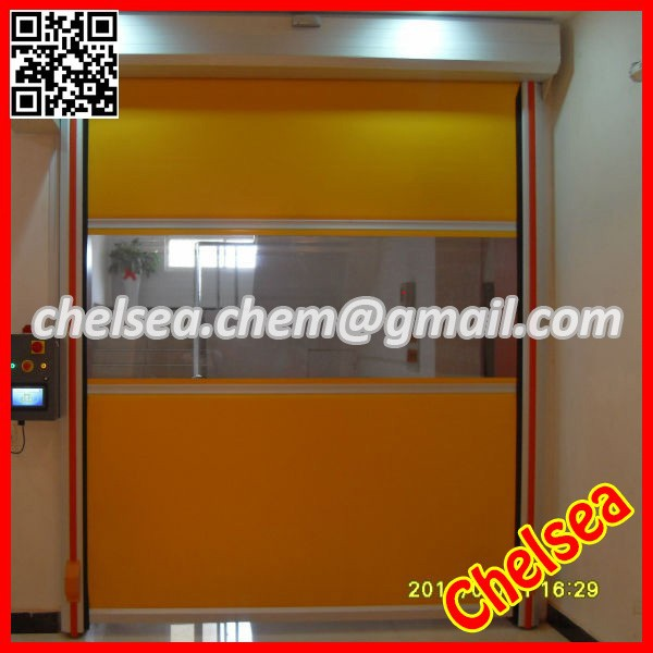 Cheap price pvc fast action door/gate made in china fabric