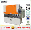 WE67K 2.2m steel bending machine , press brake machine , used aluminum brakes sale