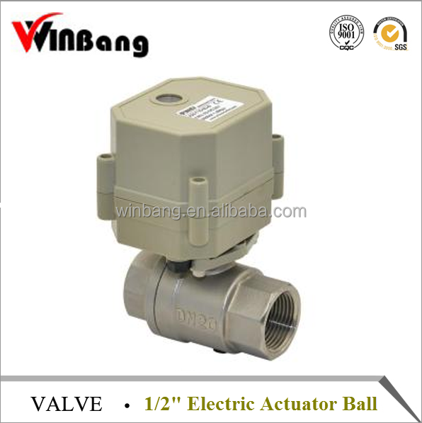 High Quality 1/2'' Electric Actuator Ball Valve
