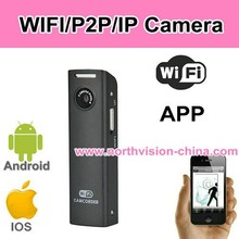 simple sports mini wifi camera, video recording 640*480