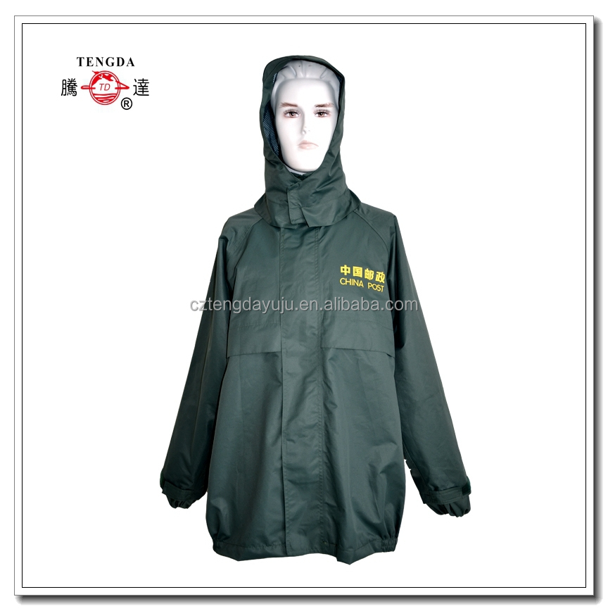 raincoat factory OEM top grade waterproof jackets with trousers