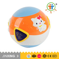 Wholesale alibaba baby ball educational used toys with music light