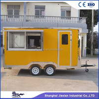 JX-FS400D Street food service truck /Commercial Mini Donut Machine/Mobile Food Truck