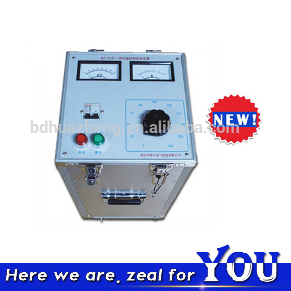 HZ-93 35KV HV Impulse Power Cable Fault Generator for cable fault Test System